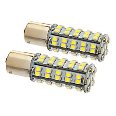 1156/BA15S 6W 68x3020SMD 470LM 5500-6500K Cool White Light LED Bulb for Car (12V,2pcs)