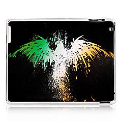 Eagle kuvio muovi takakannen iPadille 2/3/4