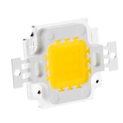 DIY 10W 820-900LM 900mA 3000-3500K luz branca quente Módulo LED integrado (9-12V)
