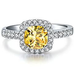 3 Carat Halo Style Cushion Women SONA Crystal Diamond Ring 925 Silver White Gold Luxury