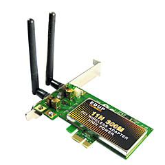 EDUP EP-9601 802.11b/g/n 300Mbps Wireless PCI-E LAN Card