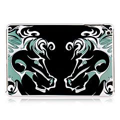 symmetri av hästen mönster plast tillbaka fallet för ipad mini 3, iPad Mini 2, iPad Mini