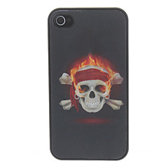 3D Skull Pattern Guitar Hard Case For iPhone 4/4S