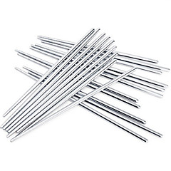 High Quality Non-slip Stainless Steel Chopsticks(3 Pairs)