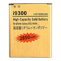 2850mAh mobiltelefon batteri till Samsung i9300 Galaxy S3 S 3 SIII S III EB-L1G6LLU