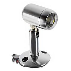 1W 110LM 6000-6500K fresco luz blanca de alta calidad LED luz del gabinete-Silver (AC 90-240V)