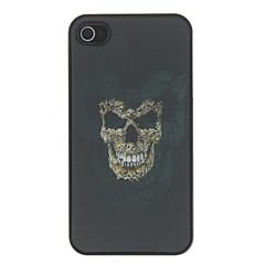 3D Skull Pattern Hard Case For iPhone 4/4S
