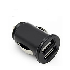 Universal Car Charger Vehicle Power Dual 2 Port USB 2.1A Car Charger Adapter For iphone ipad Samsung Huawei and Other Cellphone
