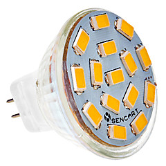 5W G4 LED Spotlight MR11 15 SMD 5730 310-320 lm Warm White / Cool White AC 24 V