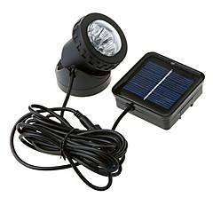 Waterproof  Solar Powered 6-LED Spotlight Garden Outdoor Flood Lamp(CIS-57157)