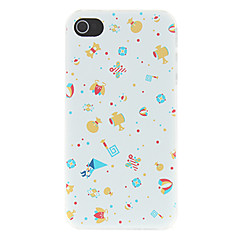 Cute Various Presents Pattern Matte Designed PC Hard Case for iPhone 4/4S