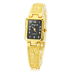 Women's rectangle dial hollow engraving alloy band quartz analog wrist watch (assorted colors) Cool Watches Unique Watches Fashion Watch