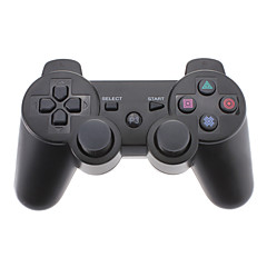Bluetooth Wireless Controller עבור PS3 (שחורה)