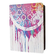 다채로운 플라이휠 오일은 아이 패드 2/3/4를위한 대를 가진 착색 된 그림 패턴 PU 가죽 상자를 페인트