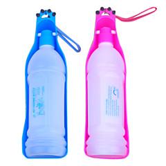 350ml outdoor bowl portátil de água de plástico potável para animais de estimação (cores sortidas)