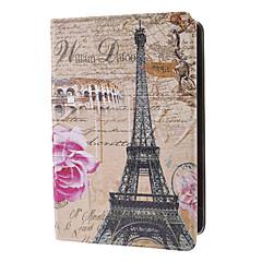 eiffel et rose rose cas de motif w / stand pour l'ipad mini-3, Mini iPad 2, ipad mini-