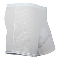 MOON Kerékpáros alsónadrág Férfi Bike Rövidnadrágok Fehérnemű Shorts Bélelt nadrág Alsók Gyors szárítás Viselhető Pamut Terylene Egyszínű