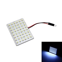 Merdia T10 4.8W 48 x 1210 LED SMD luce bianca per l'automobile Lampada lettura (coppia / 12V)