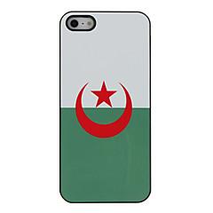 Top 32 Coupe du Monde drapeau série de dure de cas modèle pour l'iPhone 5/5S Algérie