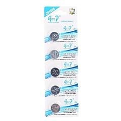 Button CR1620 3V Super litio, batterie (5 PCS)
