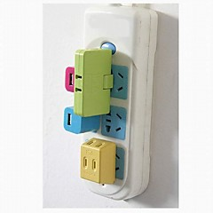 3 i 1 Power Supply Conversion Plug (Color Random)