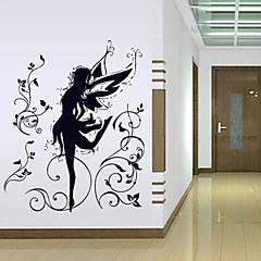 1st färgglad avtagbar fairy vägg klistermärke