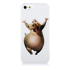 Hippo Pattern Silicone Soft Case for iPhone4/4S