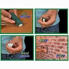 3 Pices cemento de resina con la fuerza de la herramienta de mano