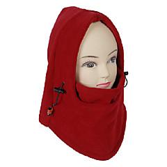 남녀 공통 옥외 방풍 레드 극지 양털 순환 마스크