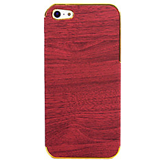Wood Grain Pattern Back Case for iPhone 5/5S(Assorted Color)