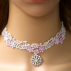 Charming Goddess White Lace Sweet Lolita Necklace