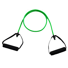 Latex Fitness Exercise Stretch Pull Rope - Green