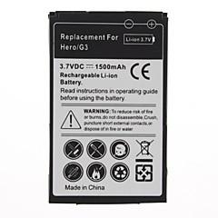 1500mAh batteria di ricambio per HTC Hero/G3