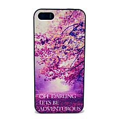 Lets Be Adventure Pattern Hard Case for iPhone 5/5S