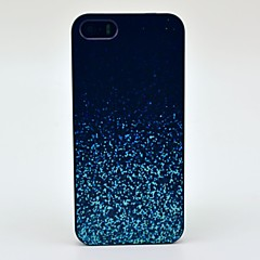 Night Glowing Sparkle Mønster Hard Case for iPhone 5/5S