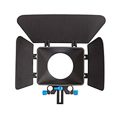 YELANGU Camera Black Matte Box Made Of ABS For digitalkamera