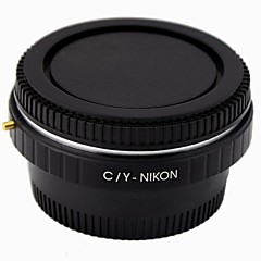 Contax C/Y LensTo NIKON SLR Camera Adapter Ring / Corrective Glass / Infinity Focus