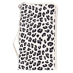 Leopard Tulosta Lompakko Suunniteltu Full Body Case kanssa hihna iPhone (Assorted Colors)