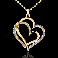 Necklace Pendant Necklaces Jewelry Party / Daily Fashion Alloy / Platinum Plated Gold 1pc Gift