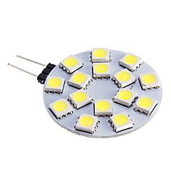 7W G4 LED-kohdevalaisimet 15 SMD 5050 480 lm Lämmin valkoinen / Kylmä valkoinen DC 12 V