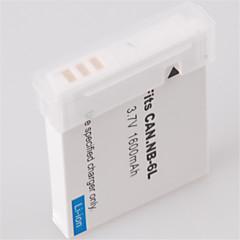 batterie de vidéo numérique remplace Canon NB-6L pour Canon S95 et plus (3.7v, 1000 mah)