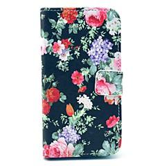 Black Rose kukkakuvio PU nahkainen Money Holder korttipaikka Samsung Galaxy S3 I9300