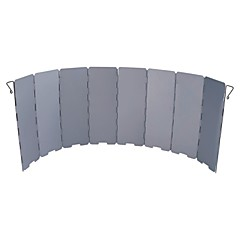 Aluminum 8-fold Windscreen For Outdoor Camping Cooking