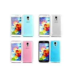 MuRexa™ New Ultrathin 0.3mm Silicone Back Cover for Samsung Galaxy S5 i9600 with Retail Package