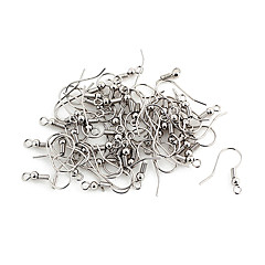 Durable Silver Alloy Hooks 100 Pcs/Bag