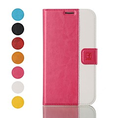 Topcel™ Flower Show Protective PU Leather Full Body Case with Stand and Card Slot for iPhone 4/4S - (Assorted Colors)