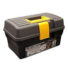 Pro'sKit SB-2918 Multi-function Tool Box with Storage Tray (O.D.:290x175x175mm)