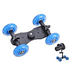 Professionale tavolo DSLR Camera Dolly Slider pattinatore a rotelle Truck Stabilizer per 5D2 EOS Video