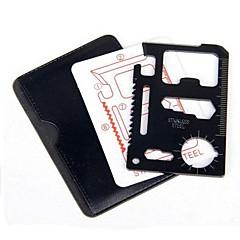 en acier inoxydable couteau outil multi-fonction portable carte crewdriver d'ouverture