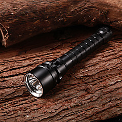 Laddningsbart 1-läge 3xCree XM-L2 U2 Vattentät Diving Flashlight (2x18650, 3800LM)